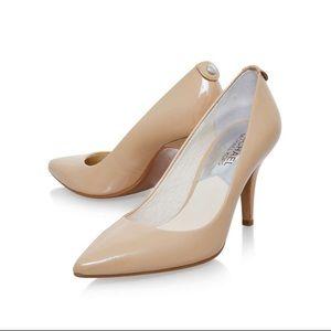 Michael Kors patent leather mid size heels